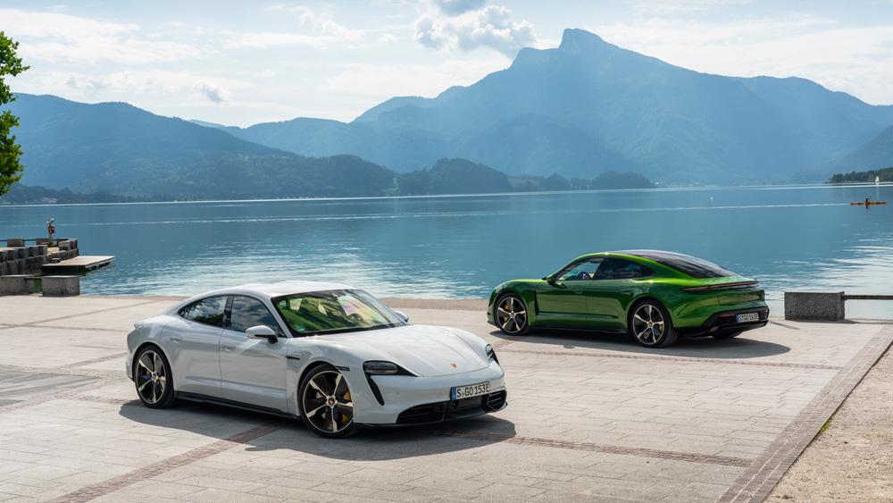 3 razones que hacen del Porsche Taycan uno de los mejores autos eléctricos del mundo - taycan
