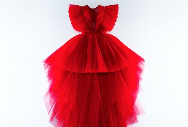 10 piezas de Giambattista Valli x H&M para lucir espectacular en tus fiestas de fin de año - vestido-tul-hm-giambattista-vallu