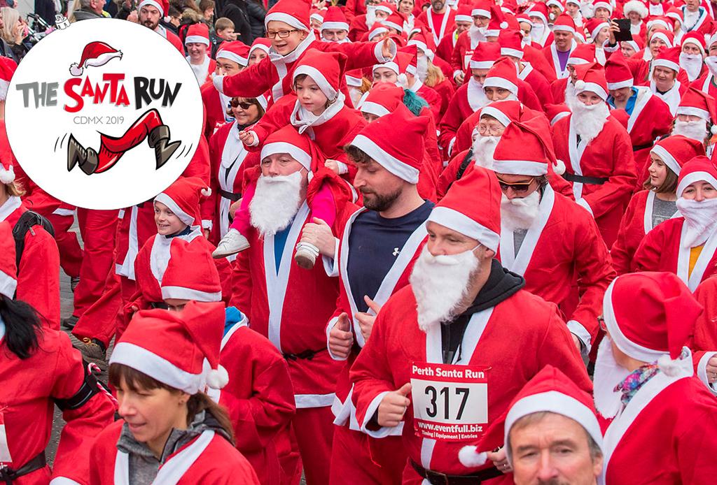 The Santa Run CDMX - santa-run