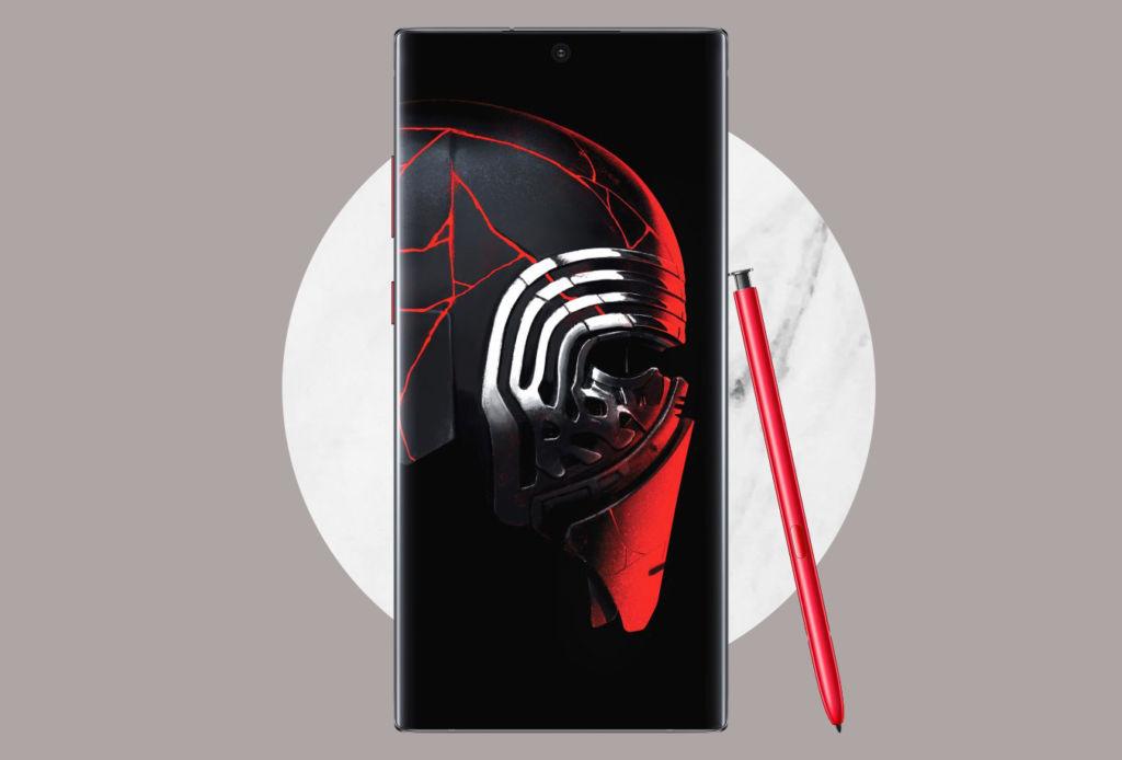 Este Galaxy Note10+ de Star Wars es lo que necesitas para navidad