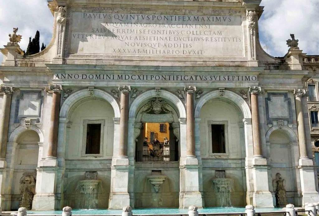 FENDI participó en la restauración de fuentes históricas de Roma ¡entérate cuáles!