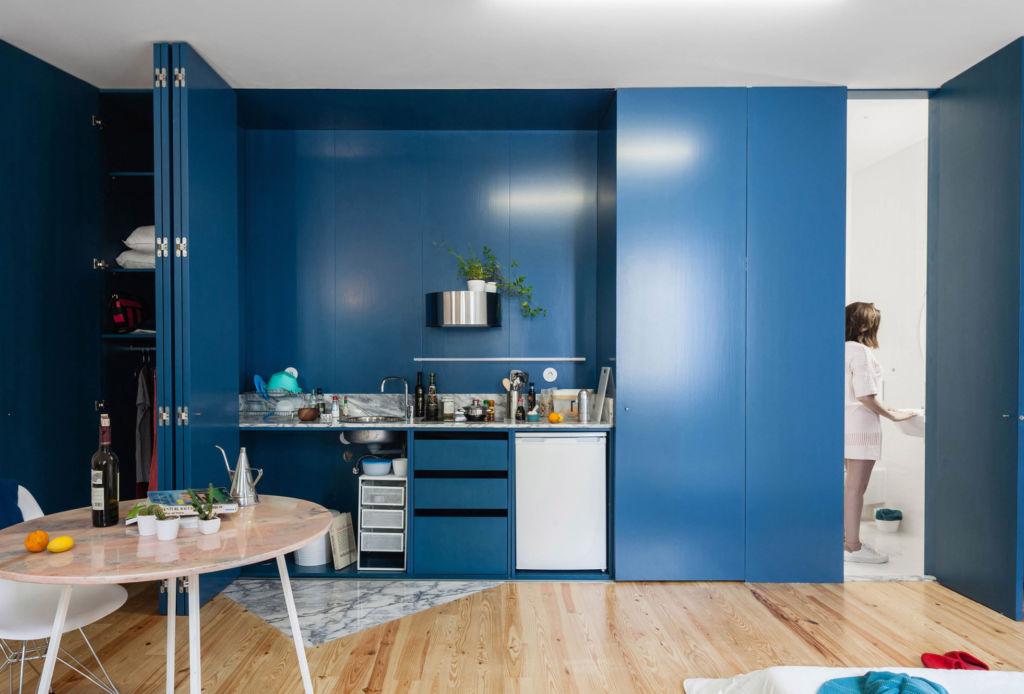 Así puedes combinar el Classic Blue, el color de Pantone para 2020 - casa-porto-azul