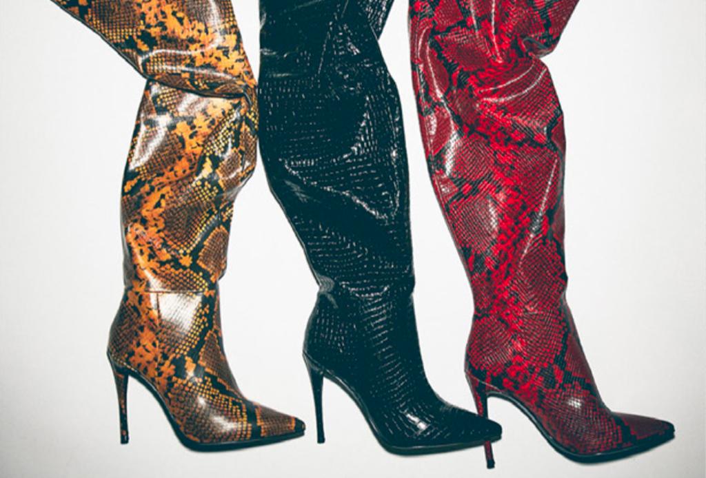 La colección de Winnie Harlow x Steve Madden tiene los zapatos que vas a querer ¡YA! - harlow-yellow-snake-steve-madden-winnie-harlow