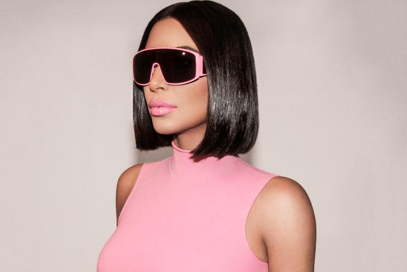 Así lucen los lentes de sol diseñados por Kim Kardashian para Carolina Lemke