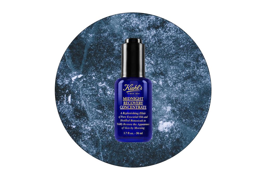 6 cremas y sueros de noche para reparar tu piel mientras descansas - midnight-recovery-concentrate-kiehls