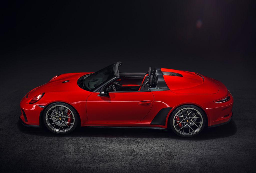 El nuevo Porsche Speedster es un homenaje a su pasado - porsche-speedster