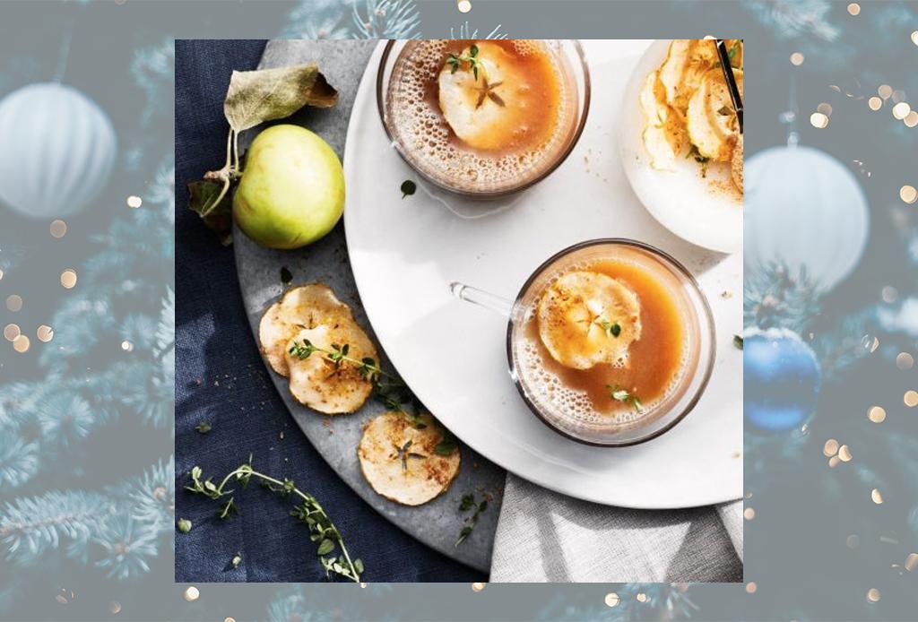 Disfruta de estos cócteles ideales para el invierno en menos de 15 minutos - sidra-manzana-coctel