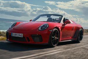 El nuevo Porsche Speedster es un homenaje a su pasado