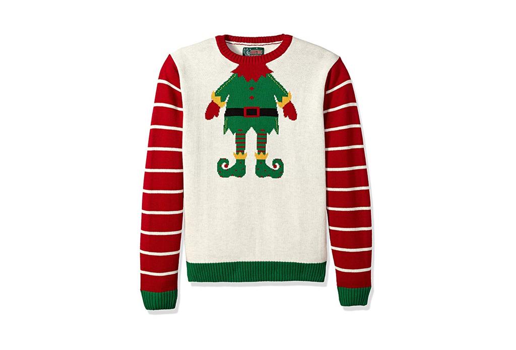 Checa estos ugly sweaters para regalar esta Navidad - ugly-sweater-elf