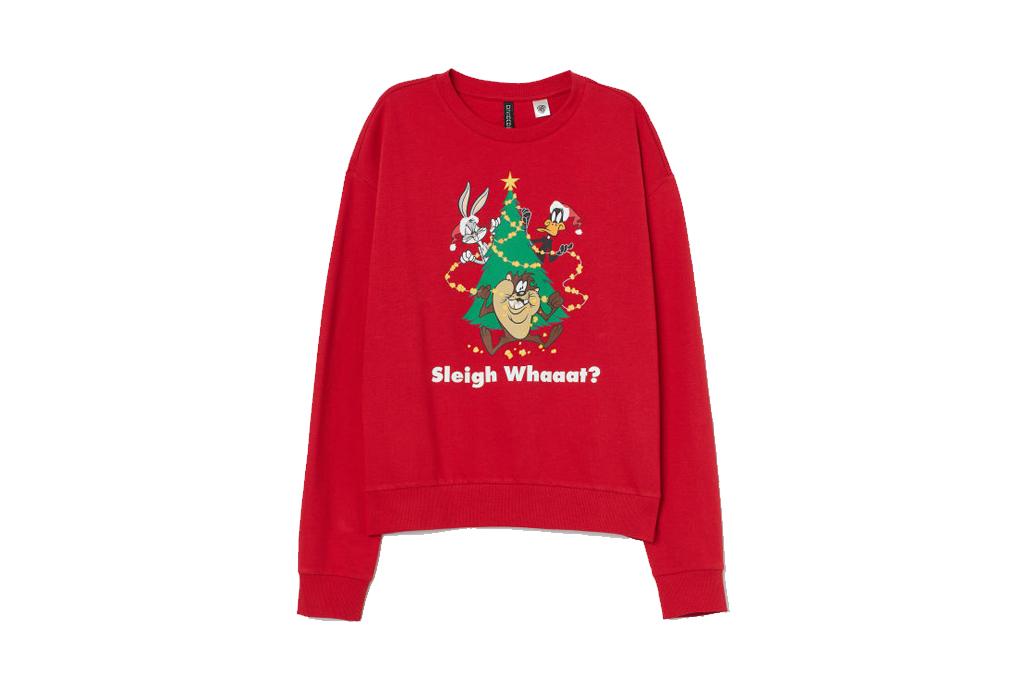 Checa estos ugly sweaters para regalar esta Navidad - ugly-sweater-loony-tunes