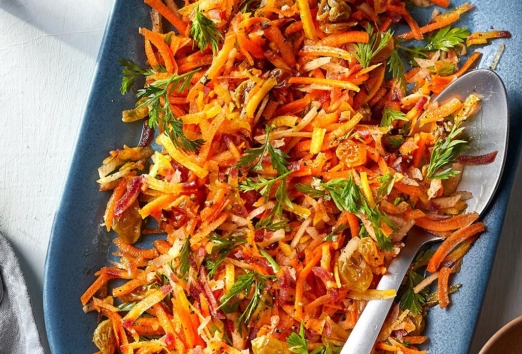 3 recetas healthy que todos amarán para tu Super Bowl Party - ensalada-zanahoria-especias
