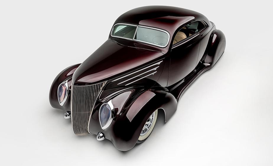 Conoce la colección de autos clásicos del vocalista de Metallica - janes-hetfield-ford-coupe