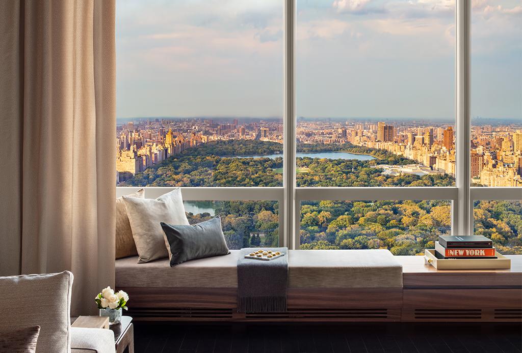 ¿Quieres hospedarte cerca del cielo? Manhattan Sky Suite es lo que necesitas en tu vida - park-hyatt-2