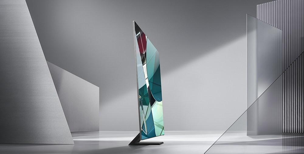 ¿Una televisión sin bordes? Samsung la tiene y es 8K - samsung