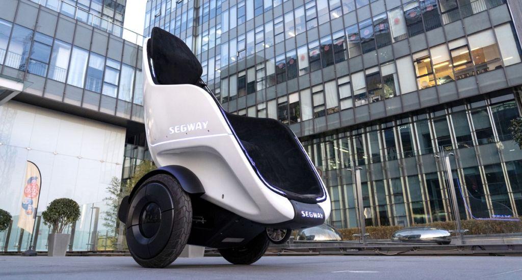 La S-Pod de Segway espera convertirse en el vehículo del futuro