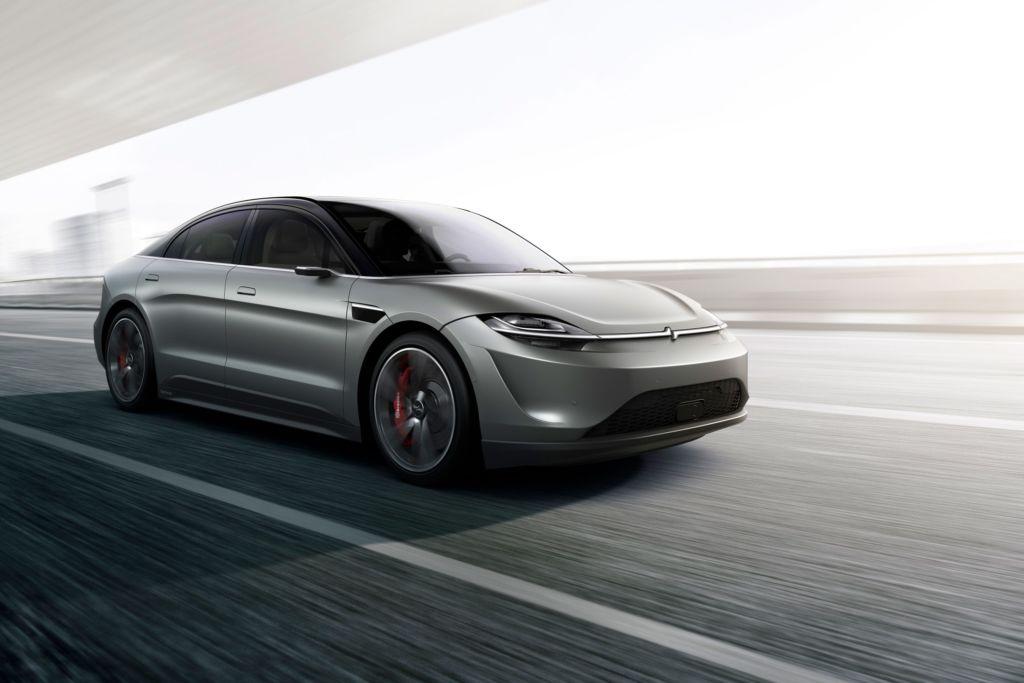 Sony revela durante el CES 2020, el Vision-S, su primer auto eléctrico - vision-s