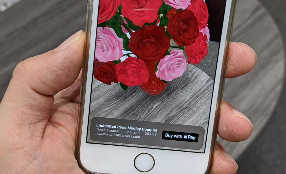 Apple te permitirá comprar en realidad aumentada