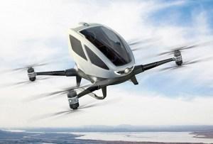 ¿Dron de pasajeros? Pronto podrás probarlo en Tulúm