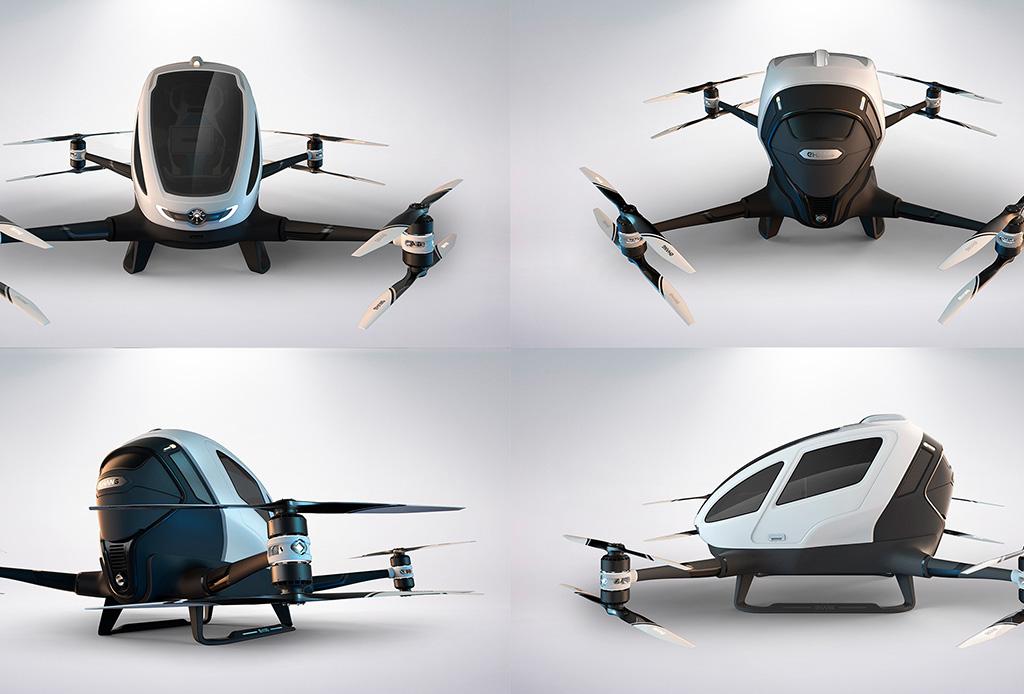 ¿Dron de pasajeros? Pronto podrás probarlo en Tulúm - dron-tulum-2