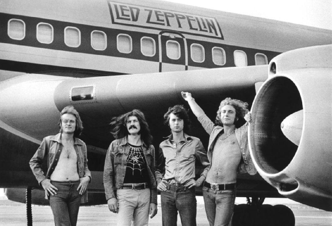 "Disco de la semana: ""II"" de Led Zeppelin - led-zeppelin-avion"