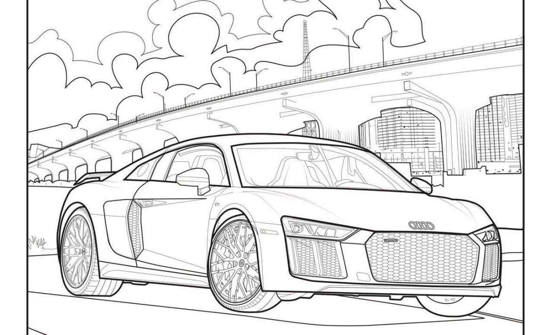 Mercedes-Benz, Audi y Callum tienen libros para colorear de autos que chicos y grandes van a querer ¡ya! - audi