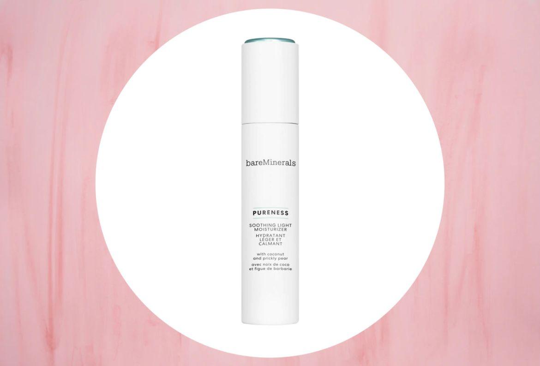 Estos productos le darán una mejor hidratación a tu piel - bare-minerals-pureness-soothing-light-moisturizer