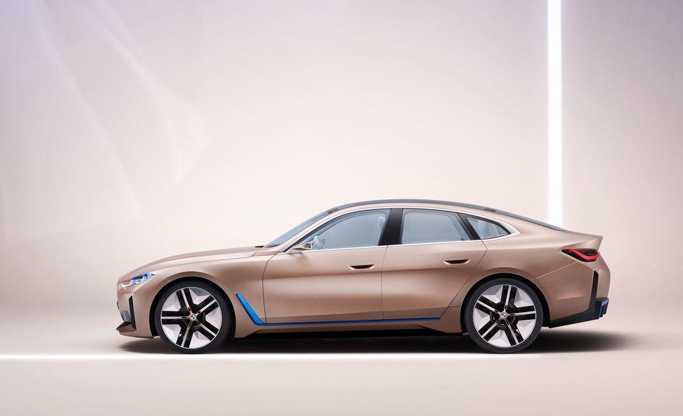 BMW i4, el futuro de la marca en un sólo auto - bmw-i4-lateral