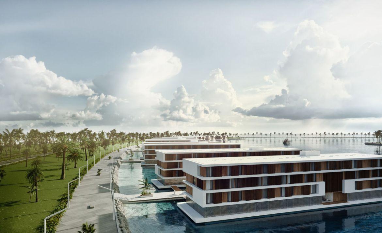 Los hoteles flotantes que están construyendo para Catar 2022 - hotel-flotante-catar
