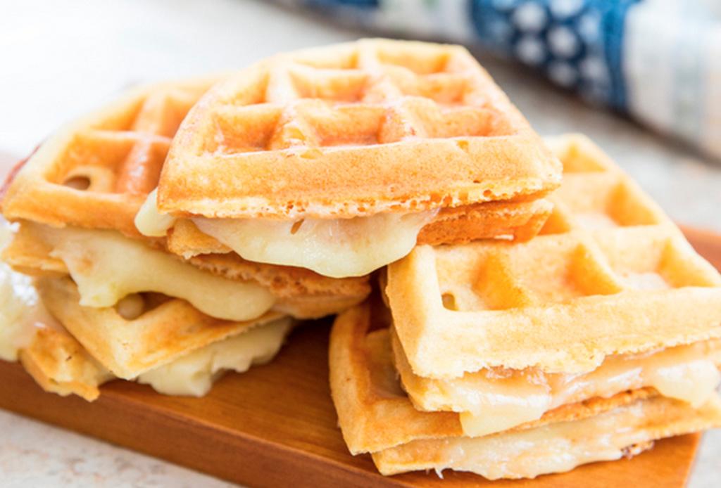 3 recetas de sándwiches de waffles que amarás y son deliciosos - sandwiches-waffles-3