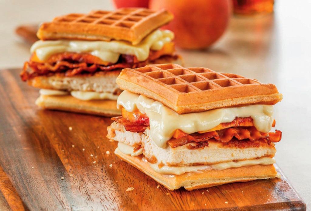 3 recetas de sándwiches de waffles que amarás y son deliciosos