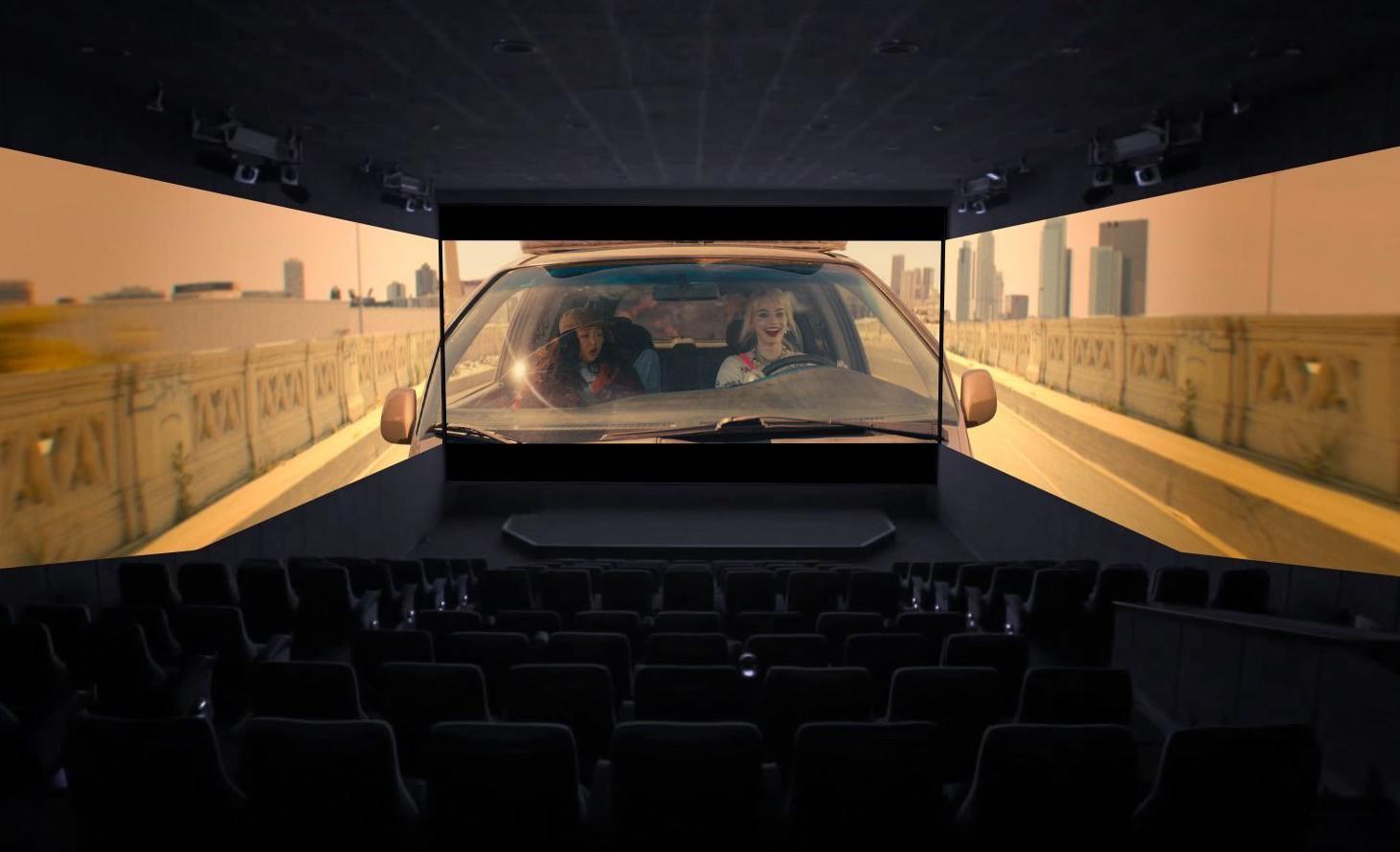 Así se vive la nueva sala 'Screen X' de Cinépolis