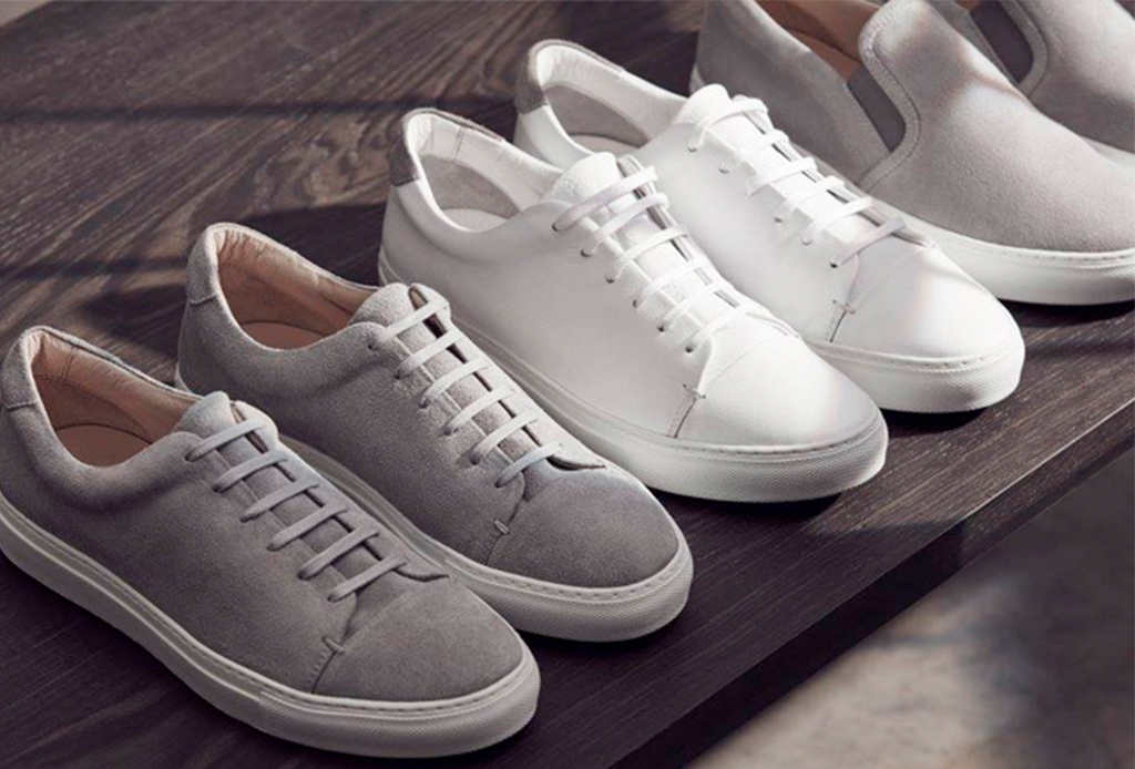 blancos sneakers for Hombre