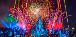 Vive el espectáculo («Happily Ever After») de luces de Walt Disney World desde tu casa