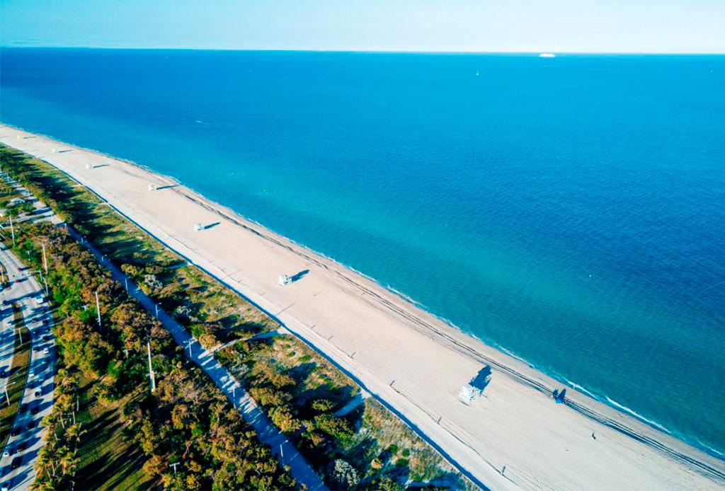 ¡Viaja desde casa! Así puedes recorrer más de 1,000 km de playas en Florida