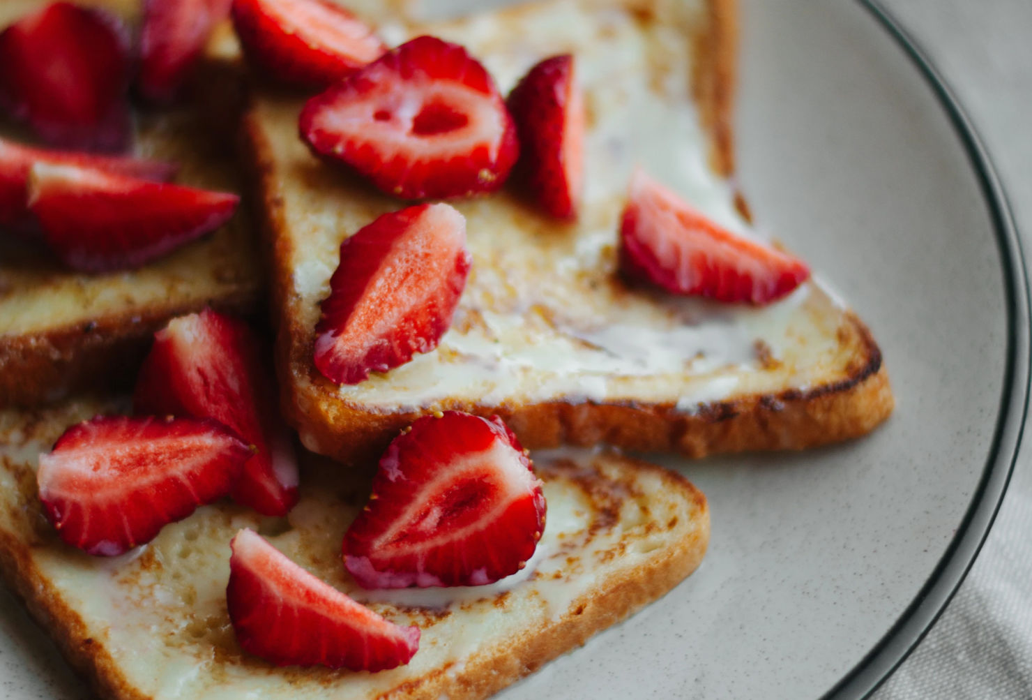French Toast con colágeno para el desayuno, ¡Tenemos la receta!