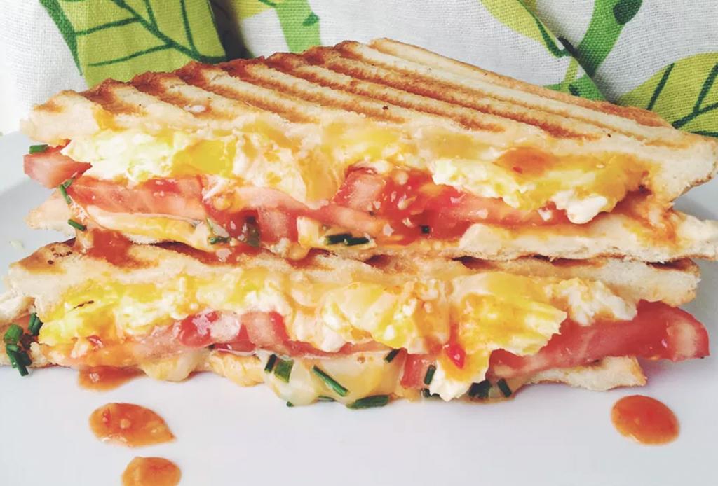 3 sándwiches de huevo que te matarán del antojo - sandwich-huevo-3