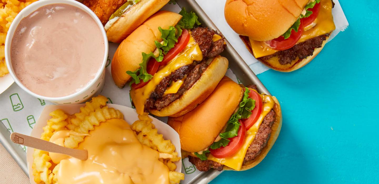 ¿Las hamburguesas de Shake Shack hasta mi casa? ¡Tomen nuestro dinero!