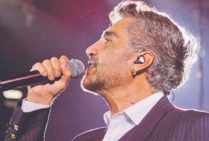 Alejandro Fernández celebrará a las mamás con un concierto virtual