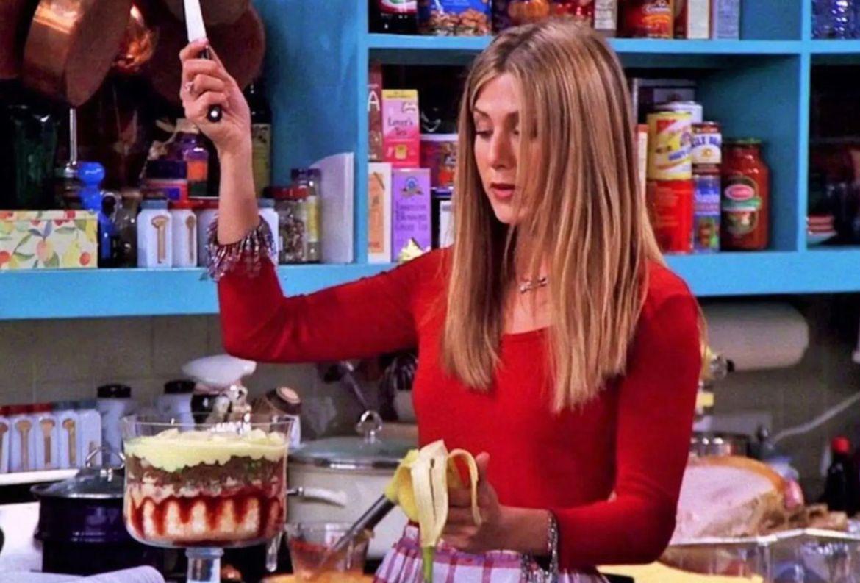 Un libro con las recetas más icónicas de 'Friends' estará disponible ¿quién lo quiere? - rachel-triffle-thanksgiving