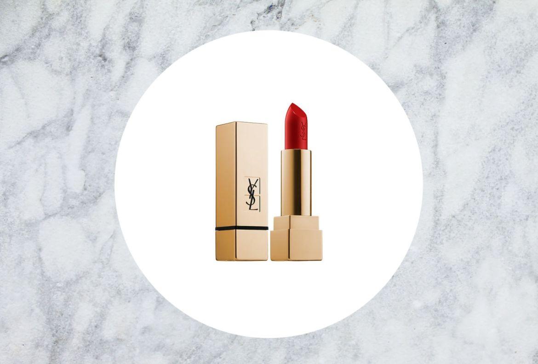 5 colores para labios que mejorarán tu estado de ánimo como por arte de magia - yves-saint-laurent-rouge-pur-couture-labial
