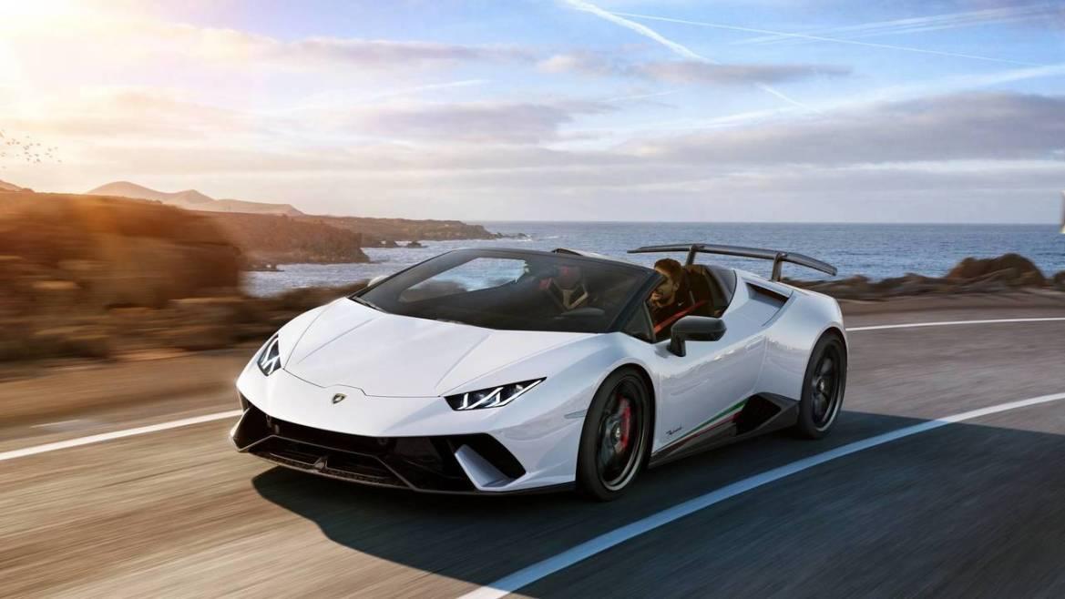 Estos son los autos con la mejor aceleración de la década - 2018-lamborghini-huracan-performante-spyder