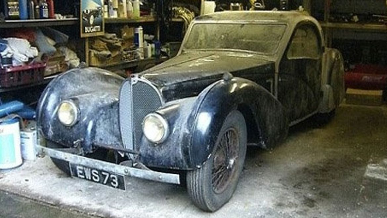 Estos autos clásicos fueron restaurados a su antigua gloria - bugatti