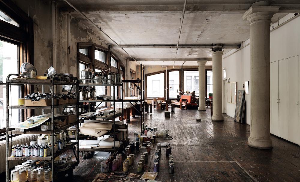 Visita los estudios de los mejores artistas de Nueva York - francesco-clemente-artista-nueva-york