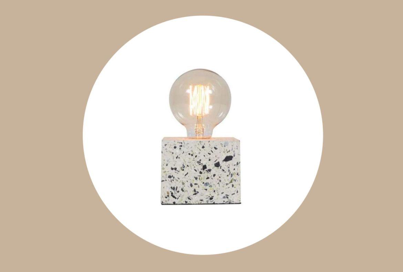10 formas de unirte a la tendencia e incluir el Terrazzo en tu decoración - lampara-terrazzo