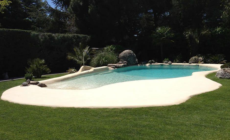"""La playa va a tu casa con la nueva tendencia de """"albercas de arena"""" - piscinas-de-arena"""
