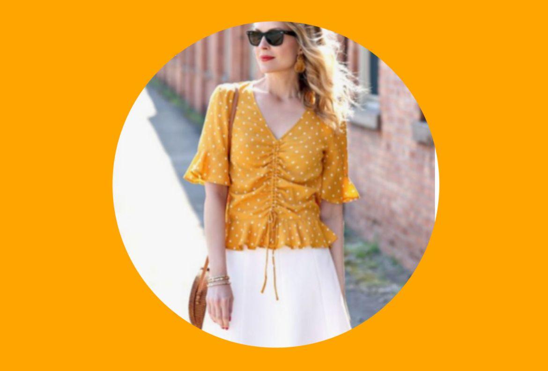 Agrega estos colores a tu ropa de verano para entrar en el mood - saffron-pantone-2020