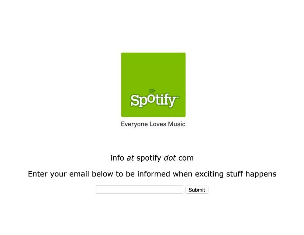 ¿Te acuerdas cuando Spotify comenzó? Así ha evolucionado con los años - 2006_spotify_homepage