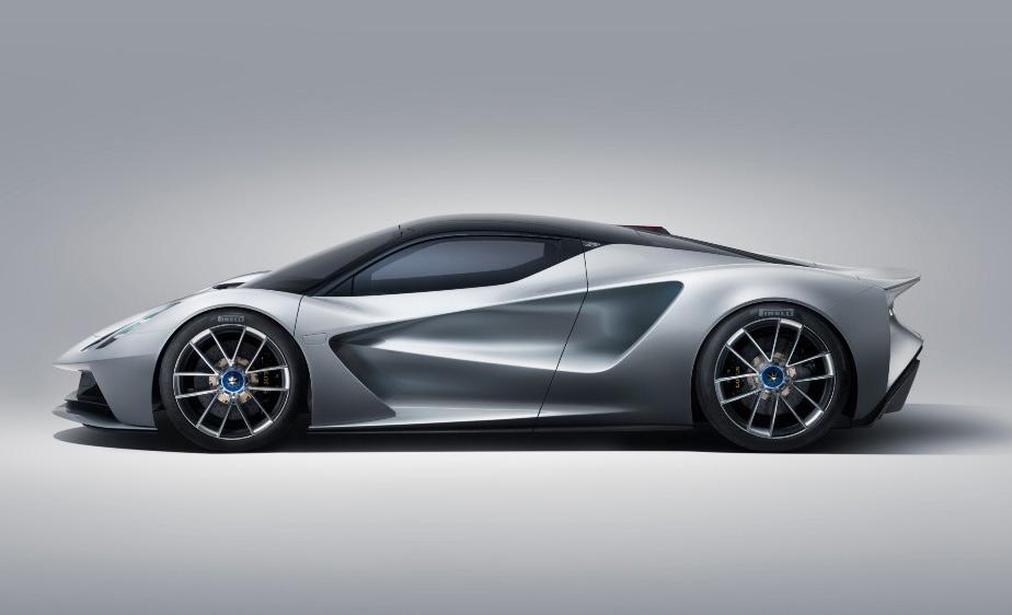 ¿Un auto más poderoso que Bugatti? Te decimos cuál es - auto-electrico-evija-lotus