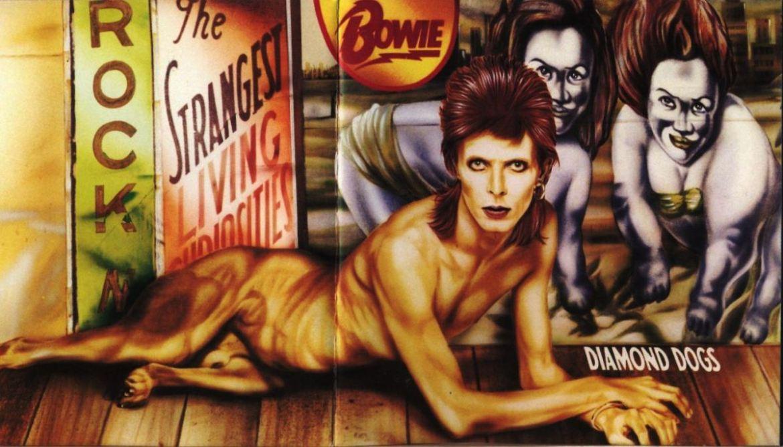 Discos que fueron prohibidos por sus portadas - david-bowie-diamond-dogs-1974