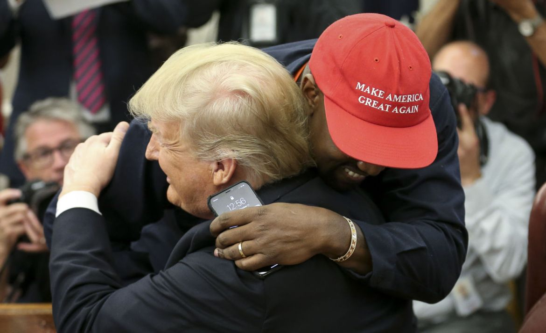 ¿Por qué Kanye West quiere ser presidente de Estados Unidos? - kanye-west-trump